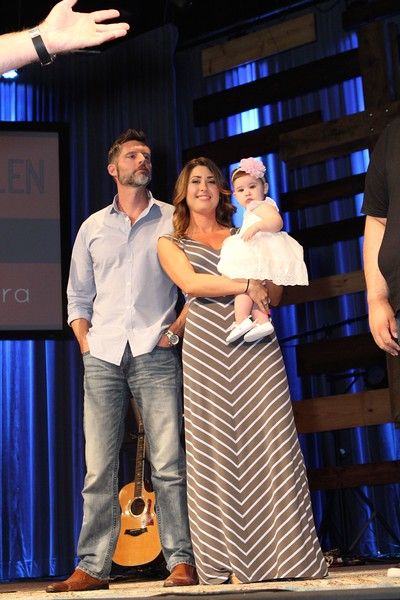 BCH Service 07 17 16 with Baby Dedications