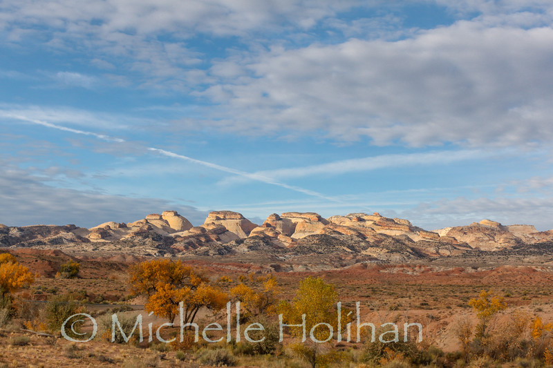 Sunrise on the Waterpocket Fold in Capital Reef National Park