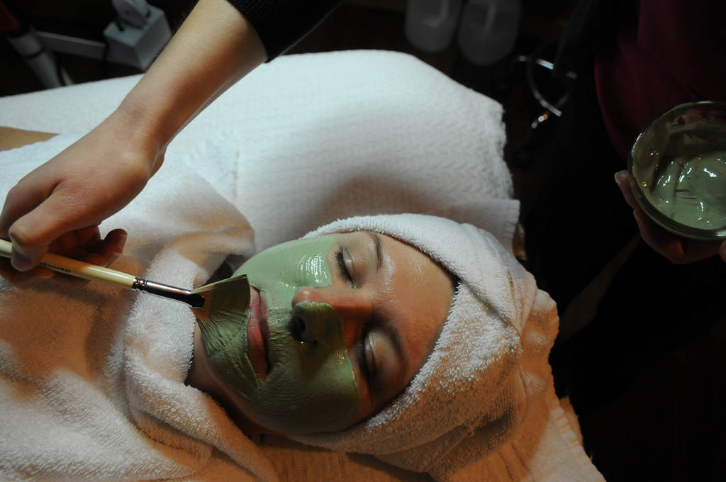 . Just For Me Spa in Stillwater offers facials that include exfoliation, steam and treatment masks. (Pioneer Press: Jean Pieri)