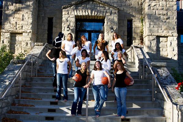 Women's Basketball Team Photos, '08-'09