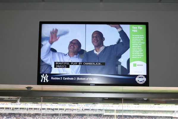 Sept 27, 2009 Skyhook at Yankee Stadium
