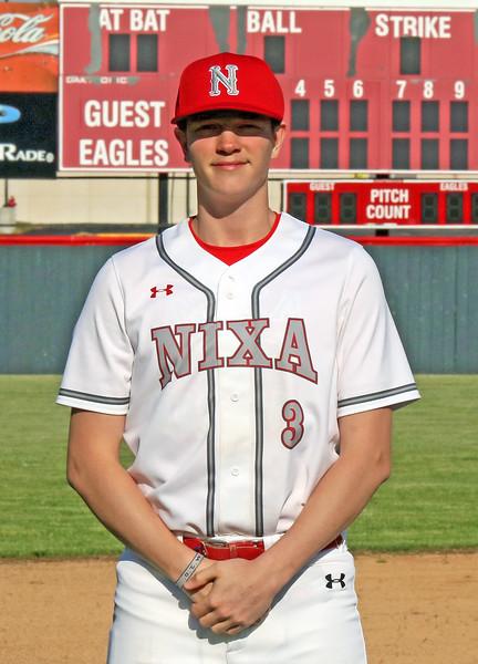 Nixa Baseball Seniors 2020