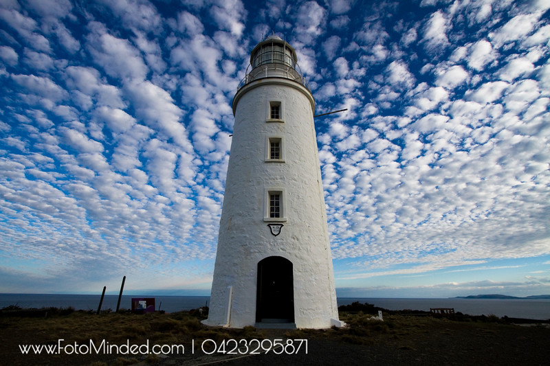 Light House of South Bruny Island. This is the 2nd light house of Australia