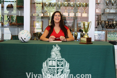 College Signing: LV - Phipps - Volleyball (by Dan Sousa)
