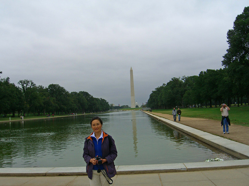 The Lincoln Memorial Reflecting Pool  http://www.visitingdc.com/memorial/reflecting-pool-washington-dc.htm
