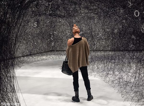 Chiharu Shiota: 'The Web of Time' 2020