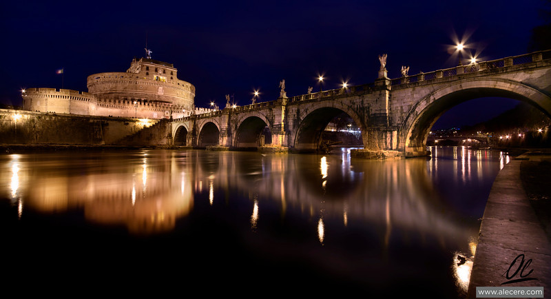 Bridge of angels - Castel Sant'Angelo in Rome