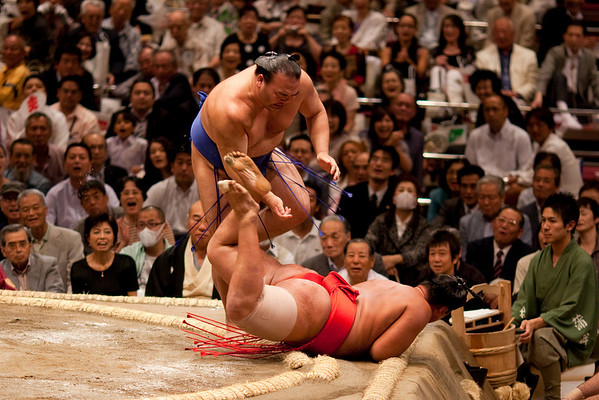 Sports 2009 Fall Sumo at Kokugikan