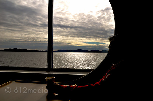 Inside Passage Ferry from Prince Rupert, Canada