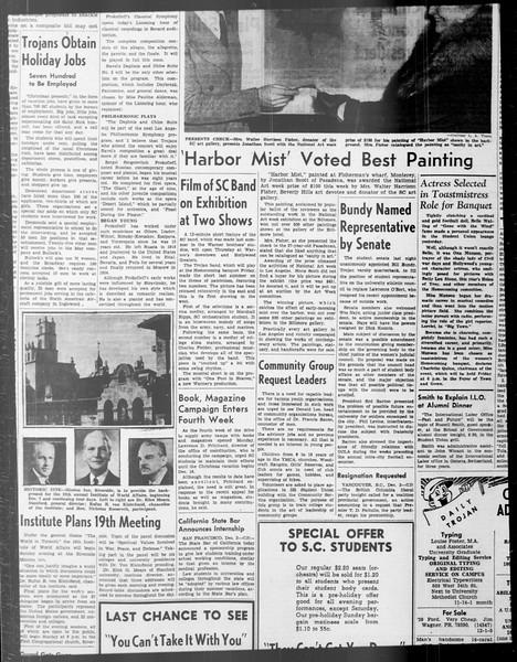 Daily Trojan, Vol. 33, No. 44, November 06, 1941