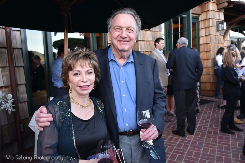 Isabel Allende and Roger Cukrus