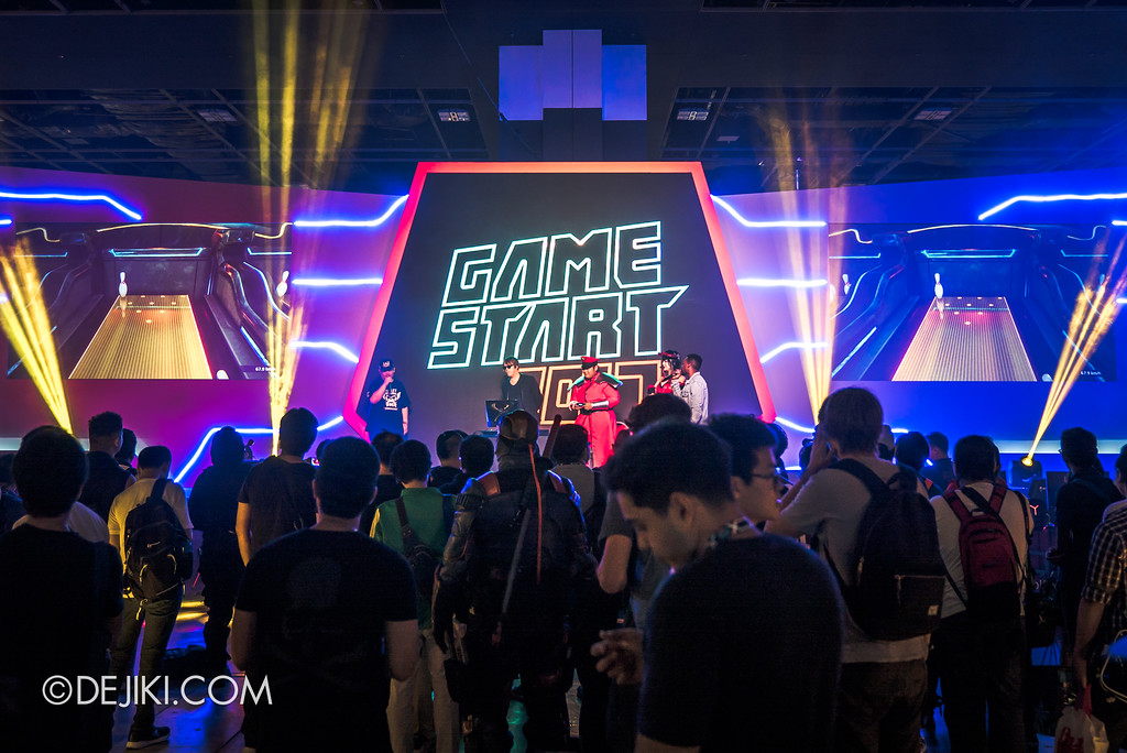 GameStart Asia 2017 Singapore gaming convention - Grand Stage overview