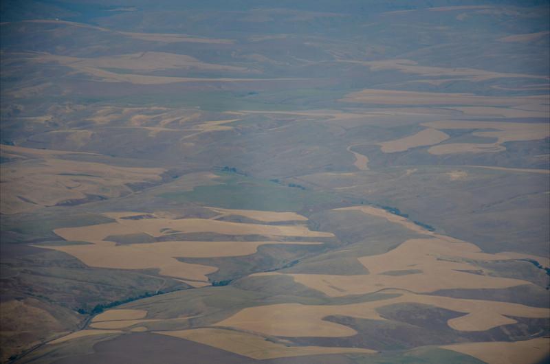 Eastern WA fields near Walla Walla.