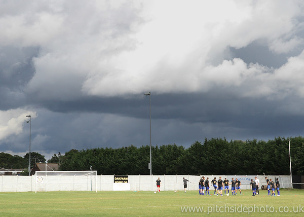 Cove 2 Thatcham Town 5 - FA Cup Preliminary Round - 25/8/12