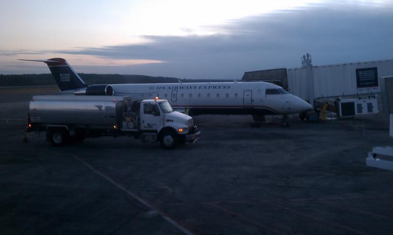 RDU to CLT - my last flight on US Airways RDU terminal 1