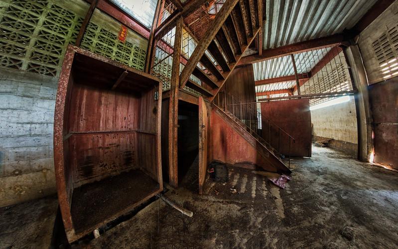 abandoned lacquer factory, Samut Sakhon Province, Thailand