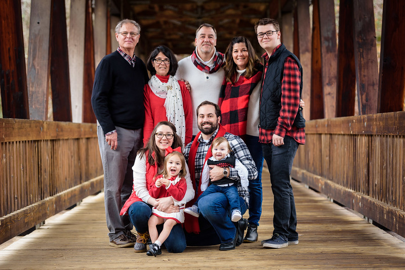 Cook Family     Holiday Shoot