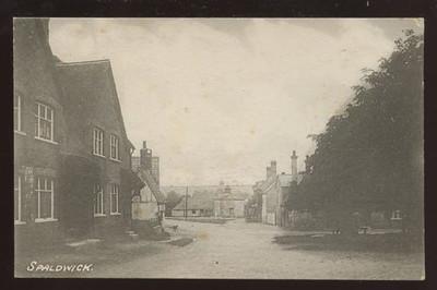 Old postcard of Spaldwick_6368598757_o.jpg