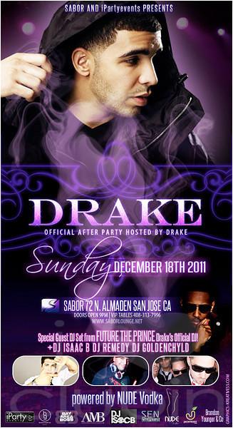 Drake Official After Party @ Sabor Tapas Bar & Lounge 12.18.11
