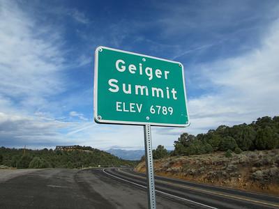 NV- Geiger Summit