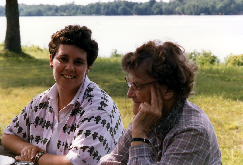Judy Phillips and Anita Herdrich