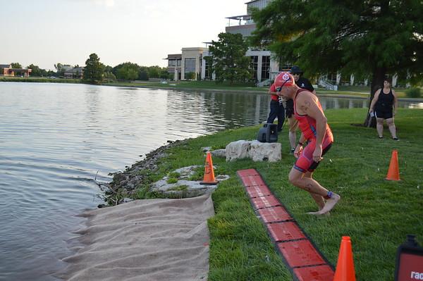 Waterfront Tri 2018 Finishline