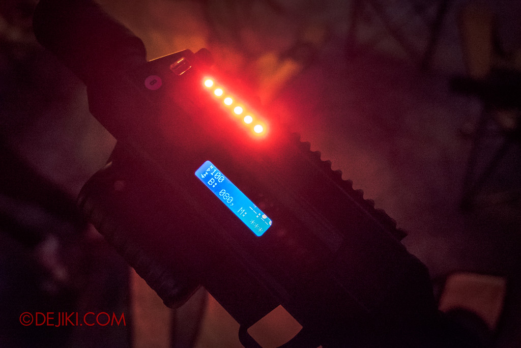 Halloween Horror Nights 7 MasterCard Priceless Experience - Battle Rifle