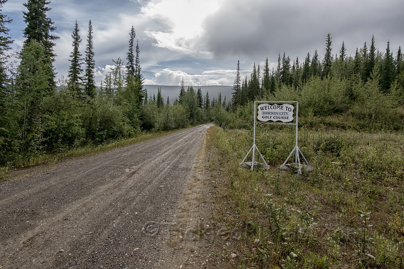 Welcome to Dawson City Golf Course