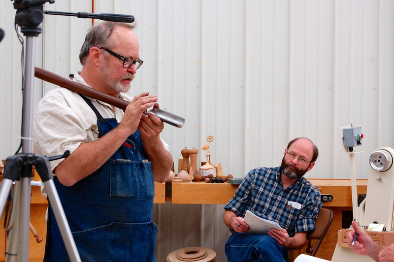 Woodturning with Alan Lacer (Oct.)