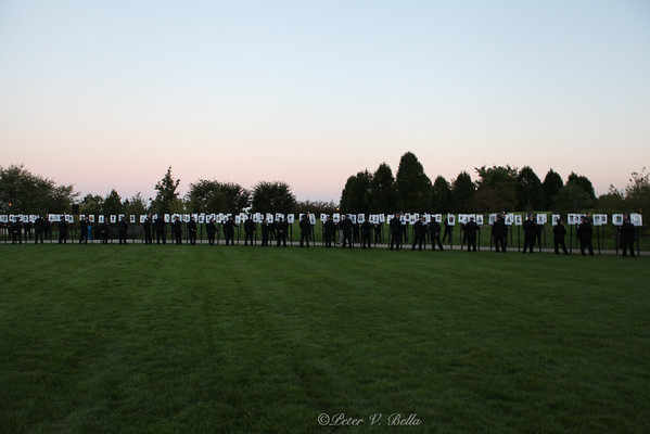 Chicago Police Memorial and Gold Star Families Candlelight Vigil