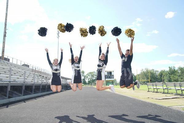 BHS Cheerleaders 2014-2015