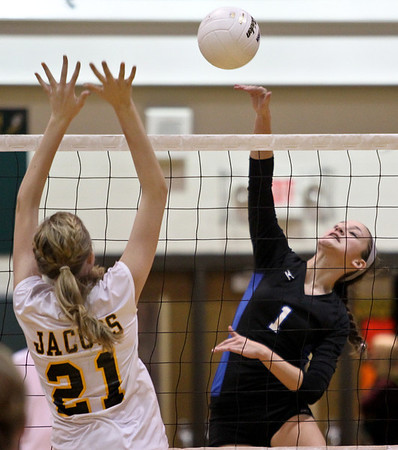 Cary-Grove and Jacob's move on in Volleyball Regional