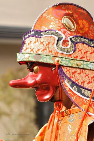 Goryo jinja Shrine Menkake