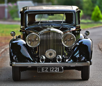 1934 Derby Bentley 3 half litre EZ 1221