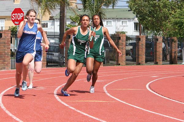 2007 Island Track Dual Meet with Christian