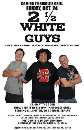 2 1/2 White Guys