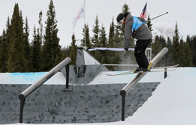 Freestyle Ski Slopestyle World Cup Copper Mtn