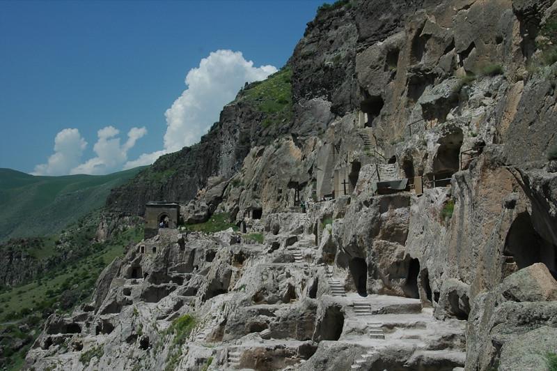 Vadzia Caves, Tunnels and Churches - Georgia