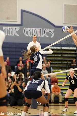 Vista Varsity Volleyball vs Pioneer WIN