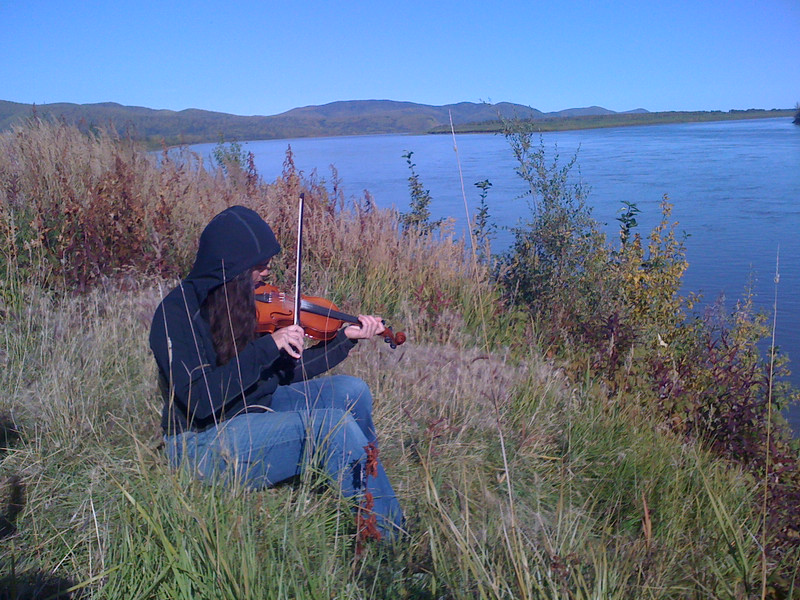 Fiddle by the River