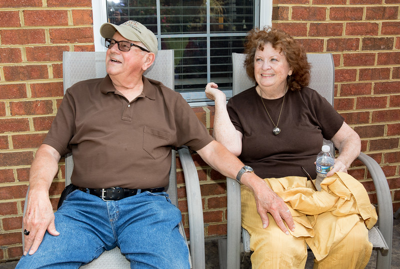 Mam and Badge Chilling on Patio.jpg