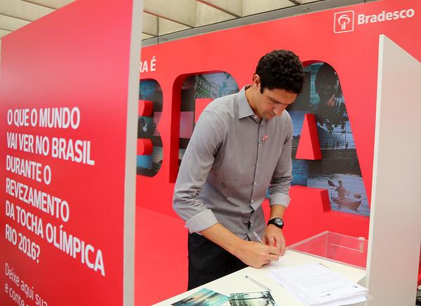 Coletiva de imprensa Revezamento da Tocha Olímpica Rio 2016