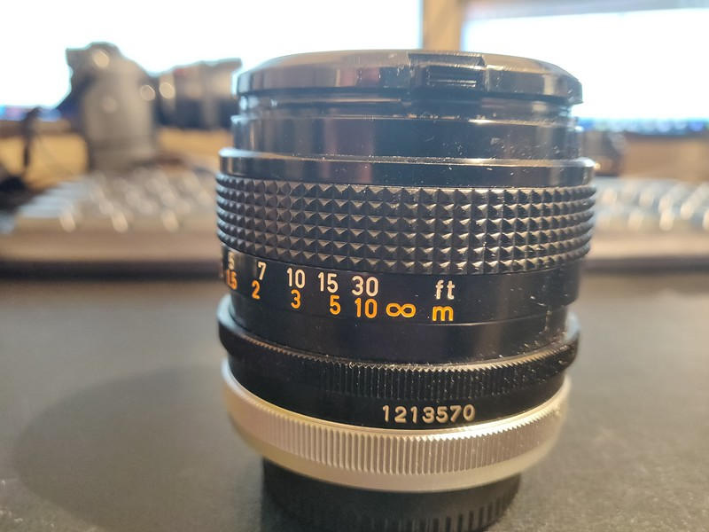 Canon FD 50 mm 1.4 S.S.C. - Serial R1116 & 1213570 003.jpg