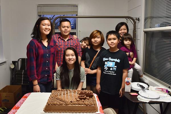 April's 16th Birthday