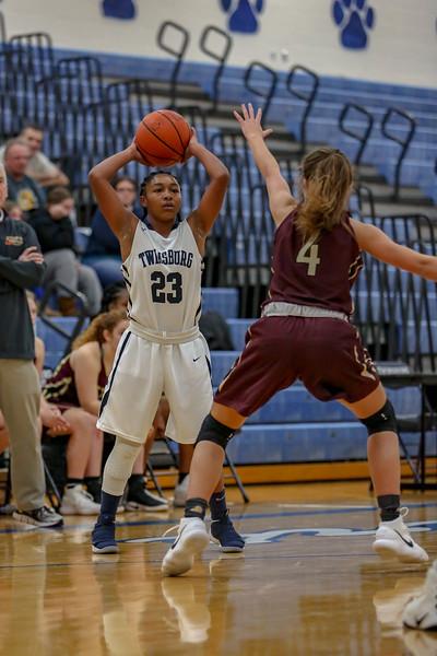 2017-12-22 -- Twinsburg Girls Junior Varsity Basketball vs Stow-Monroe Falls Girls Junior Varsity Basketball