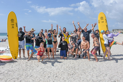 Wounded Warrior Surf Program - 2018