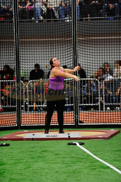Girls' Shot Put - 2017 MITS State Meet Day 1