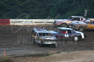 Coos Bay Speedway Dirt Oval - Aug 9, 2008