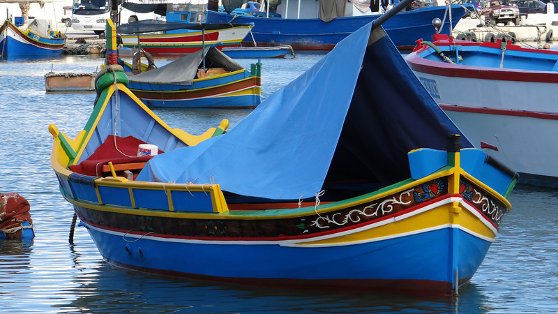 Fishing Boat, Marsaxlokk