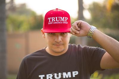 Trump Hat Photoshoot 2